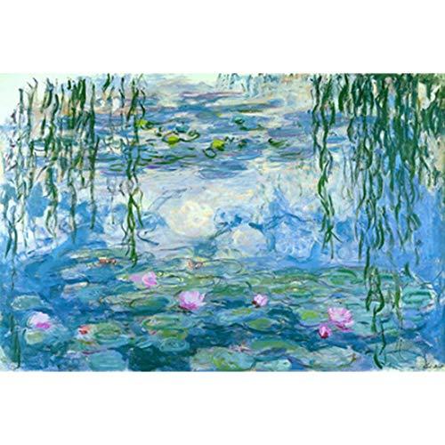 Houten puzzel, wereldberoemde schilderij Monet Olieverf Adult 1000 Pieces of houten puzzel Toy,E,1000PCS