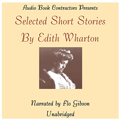 Selected Short Stories by Edith Wharton audiobook cover art