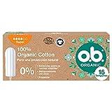 o.b. Organic Tampones, Super, 16 Tampones 60 g
