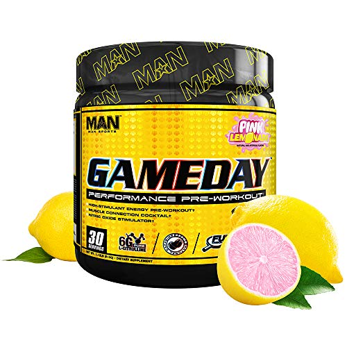 MAN Sports Game Day 30 Servings Pink Lemonade, 510 g