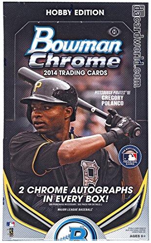 Bowman 2014 Chrome Baseball Hobby Box MLB