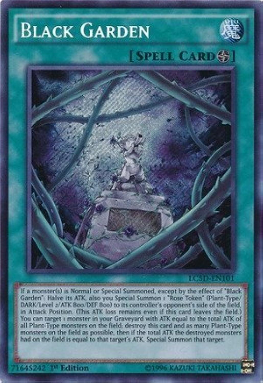 YuGiOh   Black Garden (LC5DEN101)  Legendary Collection 5D's Mega Pack  1st Edition  Secret Rare by YuGiOh
