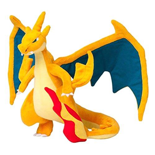 zhongjiany 22,9 cm Drache Pl¨¹schpuppe Super Fire Dragon Pl¨¹sch Tier gef¨¹llt Puppe Spielzeug f¨¹r...