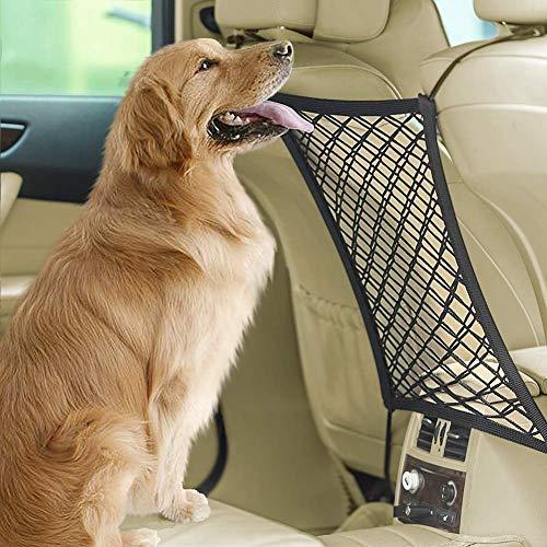 Dog Barrier Safety Pet Barrier Car Net Stretchy...