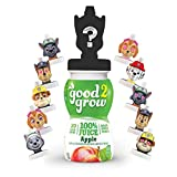 good2grow Paw Patrol Collector 100% Apple Juice, 6-pack of 6-Ounce Spill Proof Character Top...