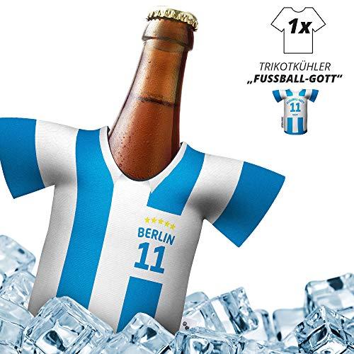 Herren Trikot 2019/20 kühler Home für. Hertha-Fans | FUßBALL-Gott | 1x Trikot | Fußball Fanartikel Jersey Bierkühler by ligakakao.de