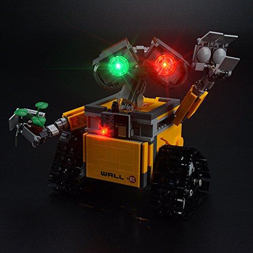 LIGHTAILING Conjunto de Luces (Ideas Wall E) Modelo de Construcción de Bloques - Kit de luz LED Compatible con Lego 21303 (NO Incluido en el Modelo)