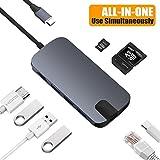 Snowkids USB C Hub USB C Adapter mit USB C