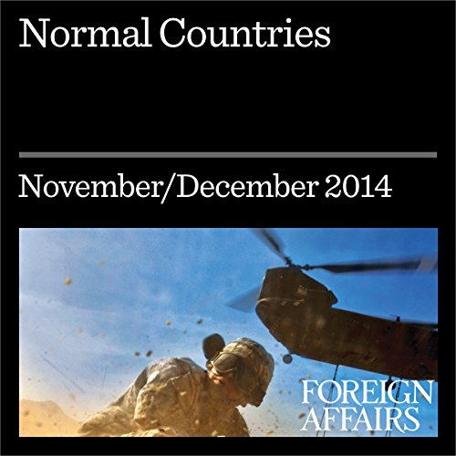 Normal Countries audiobook cover art