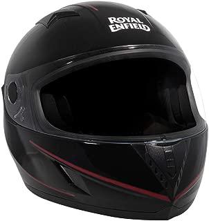 Royal Enfield Gloss Black Full Face With Visor Helmet Size (M)58 CM (RRGHEI000148)