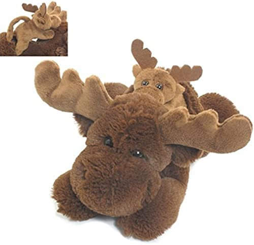 Wishpets 12 Pint-Tailled Pals, Chestnut marron Moose with   by Wishpets