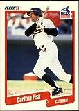 1990 Fleer Baseball Card #530 Carlton Fisk
