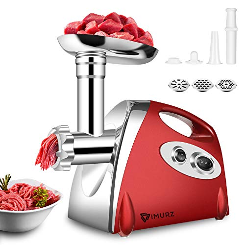 Electric Meat Grinder and Duty Household Sausage Maker Meats Mincer...