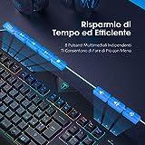 Zoom IMG-2 victsing tastiera gaming pc rgb