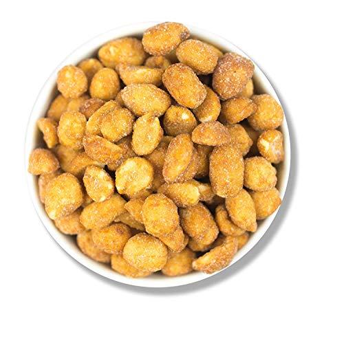 1001 Frucht Geröstete Erdnüsse mit Honig und Salz 500 g gentechnikfrei I Handverlesene Erdnüsse gesalzen mit deutschem Honig veredelt I Außergewöhnlicher Erdnüsse Snack süß und salzig