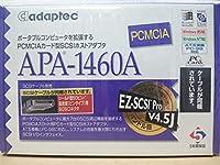 Adaptec PCMCIAカード型SCSIホストアダプタ APA-1460A
