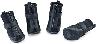 Best dog boots leather Reviews