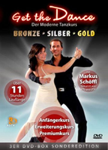 Get the Dance - 3er-Box *Bronze, Silber, Gold* [3 DVDs]