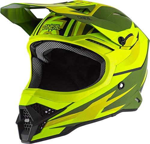 O'NEAL 3 Series Riff 2.0 Motocross Enduro MTB Helm gelb/grün 2020 Oneal: Größe: XXL (63-64 cm)