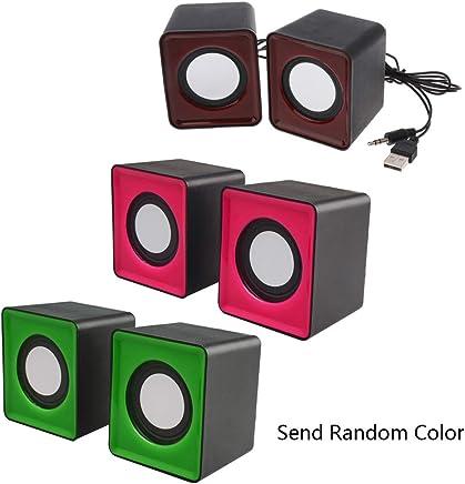 SimpleLife Wired Mini Altoparlanti/Altoparlanti multimediali/Altoparlanti per PC USB 2.0 per PC Portatili MP3 Colore Casuale - Trova i prezzi più bassi