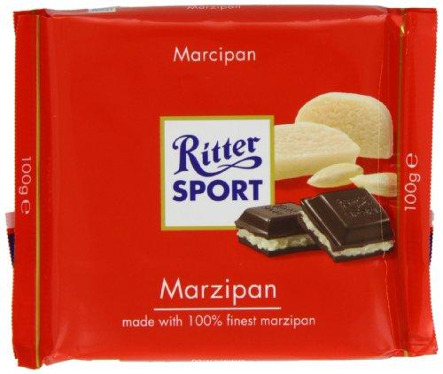 Ritter Sport Marzipan - Schokolade 5x100g