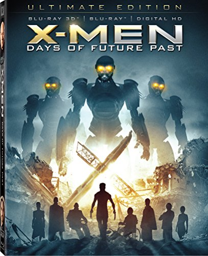 X-men Days of Future Past Blu-ray 3d Ultimate Edition
