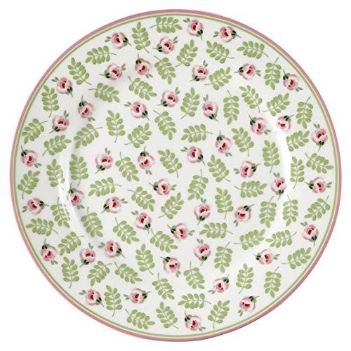 GreenGate - Teller - Kuchenteller - Frühstücksteller - Lily Petit - Porzellan - Ø 20,5 cm