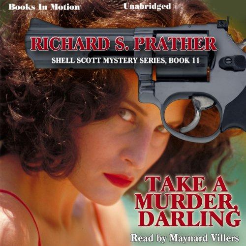 Take a Murder, Darling audiobook cover art