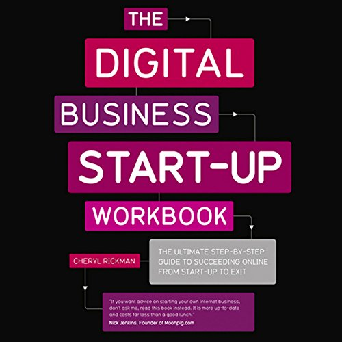 The Digital Start Up Workbook audiobook cover art