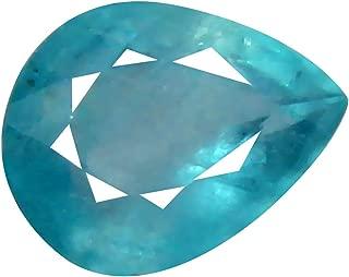 Deluxe Gems 0.81 ct Pear Cut (7 x 6 mm) Unheated/Untreated Greenish Blue Grandidierite Natural Gemstone