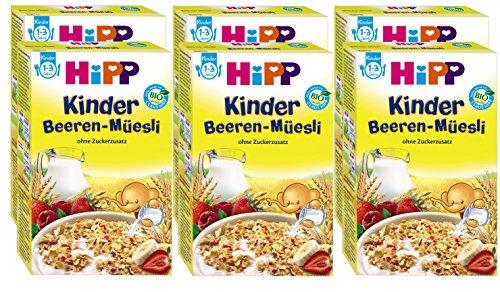 Hipp Kinder Beeren-Müsli, 6er Pack (6 x 200g)