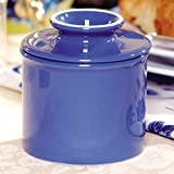 FLAVOR AND FRESHNESS - Modeled after the original French butter crock, The Original Butter Bell Crock by L. Tremain keeps butter fresh and spreadable for up to 30 days without refrigeration; no odors or spoilage. Two-piece design features an inverted...