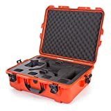 Nanuk DJI Drone Waterproof Hard Case with Custom Foam Insert for DJI Phantom 4/ Phantom 4 Pro (Pro+) / Advanced (Advanced+) & Phantom 3 - Orange