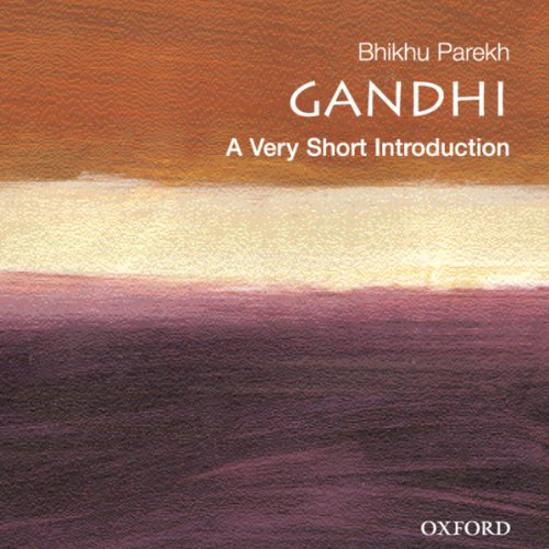 Gandhi: A Very Short Introduction audiobook cover art