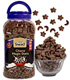 Breakfast Cereal Choco Magic Stars (Cereal Wholegrain Chocolate Chocos Moons and Stars Snack) Jar 325 g