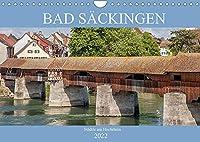 Bad Saeckingen - Staedtle am Hochrhein (Wandkalender 2022 DIN A4 quer): Ein Stadtportrait von Bad Saeckingen (Monatskalender, 14 Seiten )