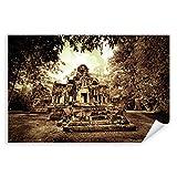 Postereck - 0163 - Angkor Wat Tempel, Kambodscha Sepia