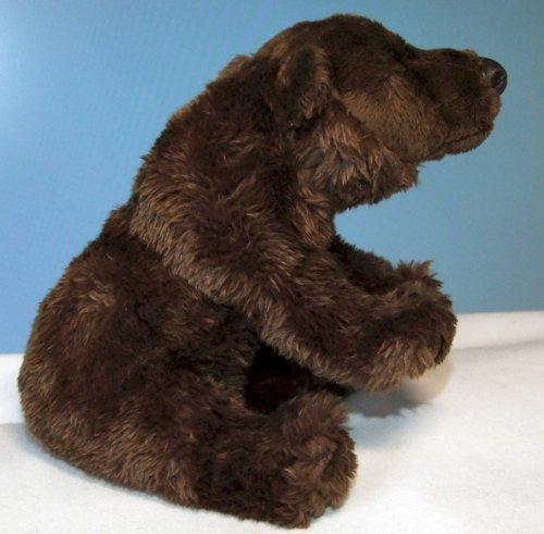Bär Braunbär sitzend 23 cm, von Leosco, Plüschhund, Kuscheltier, Baer