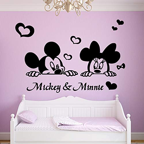 Habitación para niños ratón Moderno Sala de Estar decoración para el hogar Pegatinas Impermeable Vinilo Papel Tapiz decoración del hogar Arte Pegatinas 77x115cm