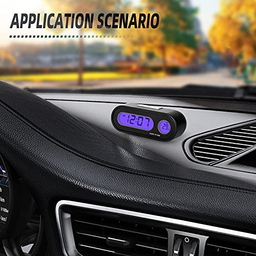 MEANLIN MEASURE Dashboard Clock Product Image