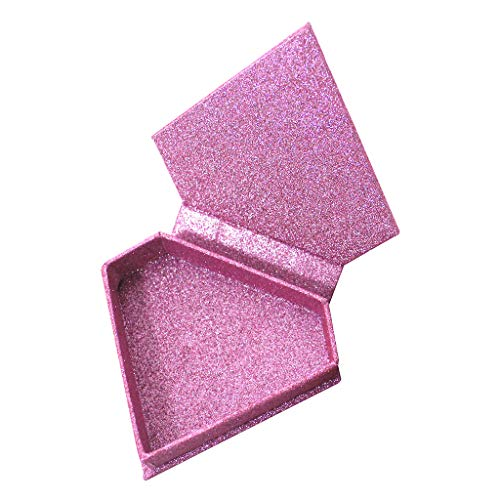 MERIGLARE Boîte De Support De Bijoux De Récipient De Cas De Stockage De Faux Cils De Diamant Magnétique