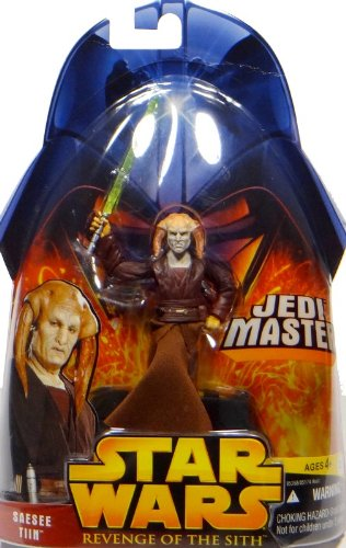 Saesee Tiin Jedi Master No.30 - Star Wars Revenge of the Sith Collection 2005 von Hasbro