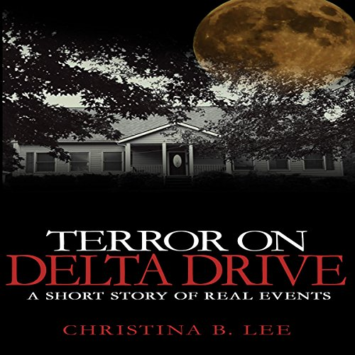 Terror on Delta Drive audiobook cover art