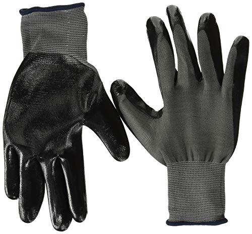 [ミタニコーポレーション]ニトリル背抜き手袋パワーブラック(10双入)LL/13ゲージ・ナイロン原手・ニトリルゴム背抜き手袋/LLサイズ