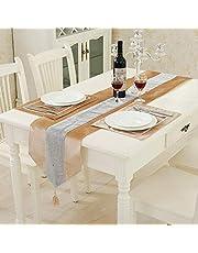 HeMiaor Chemin de table de mariage à paillettes strass