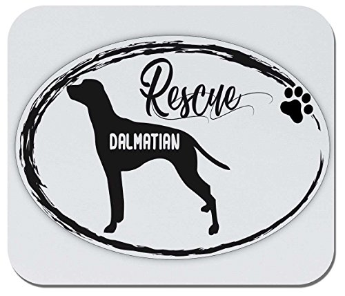 Makoroni - Rescue Dalmatian - Non-Slip Rubber Gaming Office Mousepad, g52