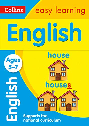 English Ages 5-7: Prepare for school with easy home learning (Collins Easy Learning KS1)