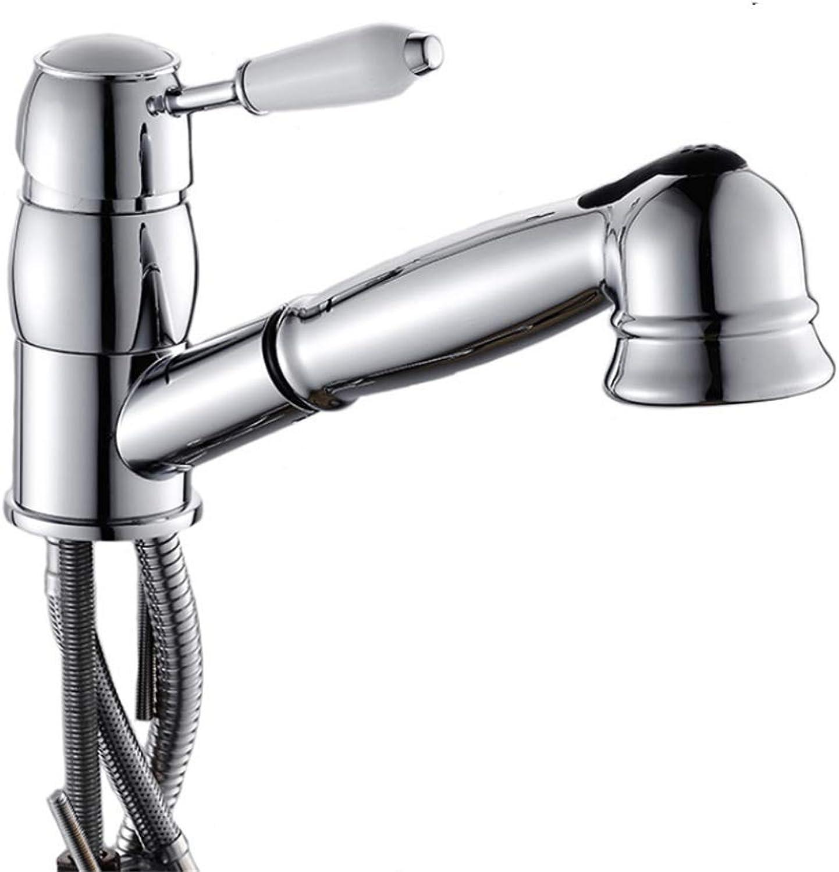Faucet Mone Spout Basincopper Kitchen Draw Faucet for Sanitary Ware