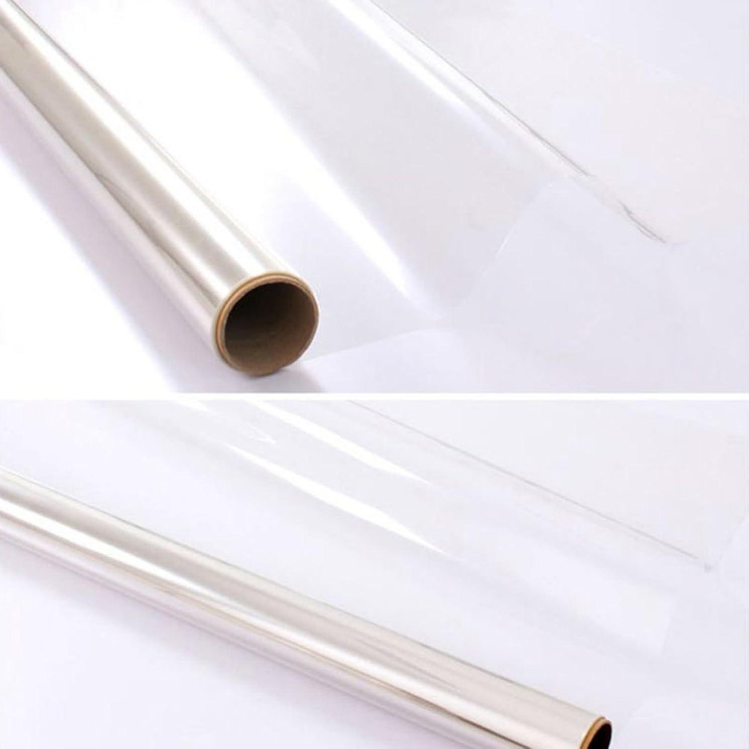 ウィザード肉屋階SUNDECK ガラス飛散防止シート 防災対策 子供対策 ガラスフィルム 透明無色(50cm×300cm)