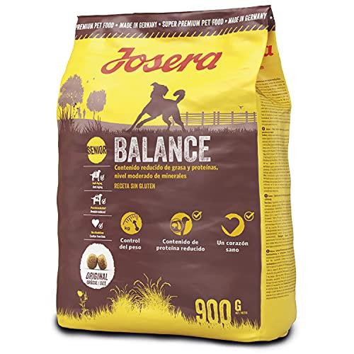 JOSERA Balance (5 x 900 g)   fett- und eiweißreduziertes Hundefutter für Senioren   glutenfrei   Super Premium Trockenfutter für ältere Hunde   5er Pack